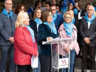 Rosa Peñalver en acto Asamblea Día Mundial Diabetes