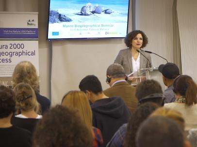 Directora de la Fundación Biodiversidad, Sonia Castañeda