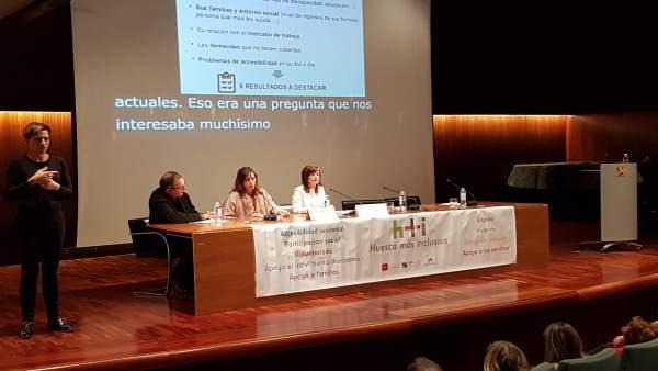 Estidio de CADIS Huesca  sobre discapacidad y mujer