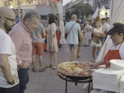 Alberto Chicote, en la entrega de fiestas populares de '¿Te lo vas a comer'?.