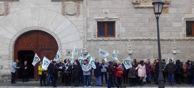 Los funcionarios de Justicia de Zamora defienden la huelga del viernes ante la