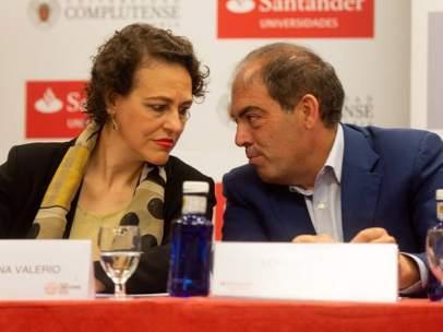 Magdalena Valerio y Lorenzo Amor