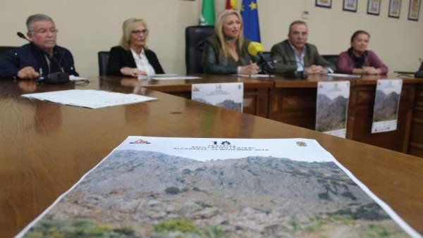 Presentación de la Travesía Arco Calizo Central de Alfarnate