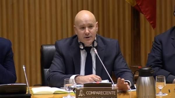 El jefe de seguridad de la ERA, Cristopher Carr
