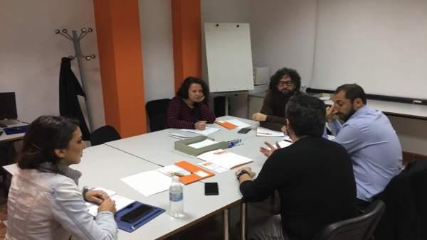 Encuentro de Adelante Andalucía con Secretariado Gitano