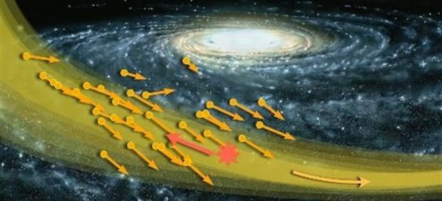 Detectan lo que podría ser un 'huracán' de materia oscura cerca de la Tierra