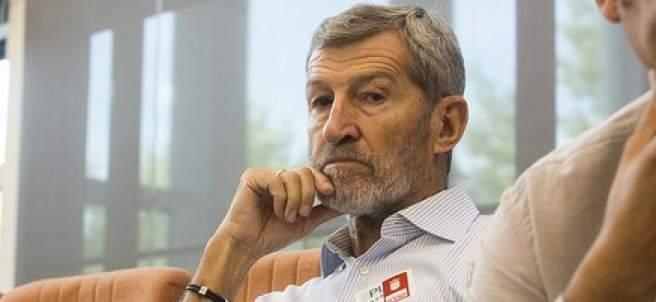 Julio Rodríguez, en la Asamblea de Madrid