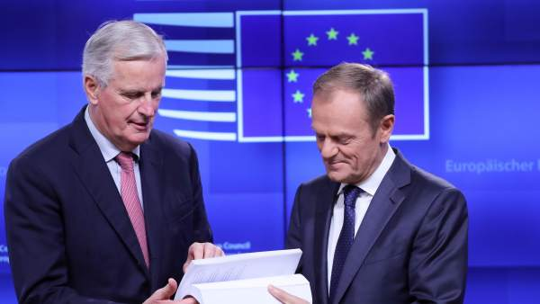Los negociadores del 'brexit' con el preacuerdo