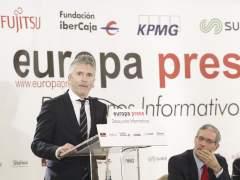 Desayuno Informativo de Europa Press con Fernando Grande-Marlaska