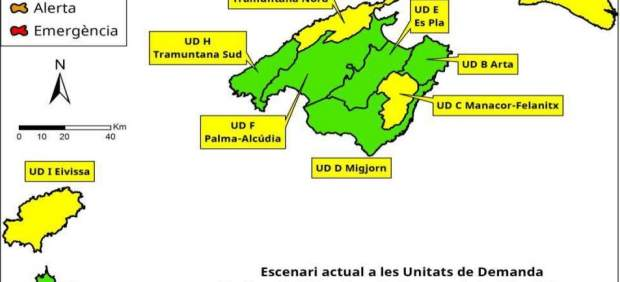 Las reservas hídricas de Baleares se mantienen en el 56% en octubre pese a las precipitaciones ...