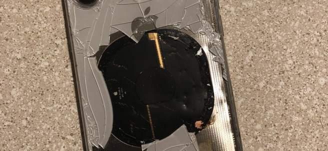 Explota un iPhone X