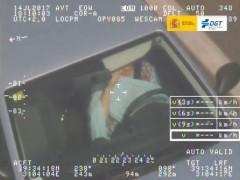 conductora infracción DGT