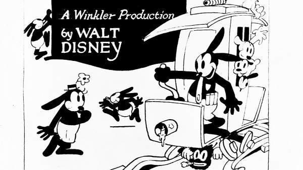 Oswald, el conejo afortunado
