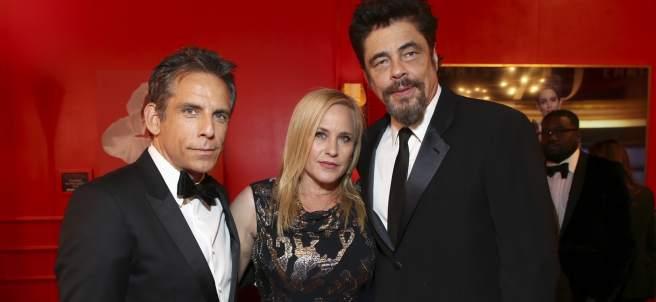 Ben Stiller, Patricia Arquette, y Benicio del Tor
