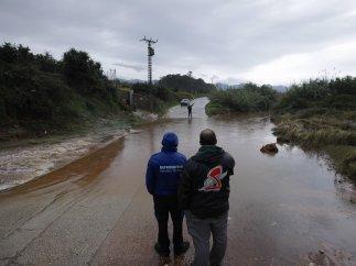 Alerta roja en Valencia por las lluvias