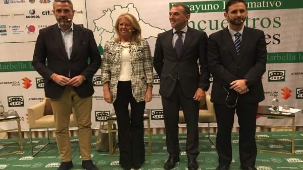 Alcaldes de la costa del sol en foro marbella impulsa