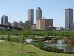 Tulsa, ciudad en Oklahoma.