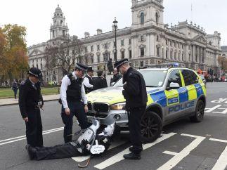 Un cómico arresto