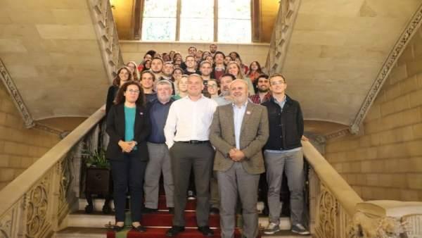 Bienvenida a los nuevos trabajadores jóvenes del Consell