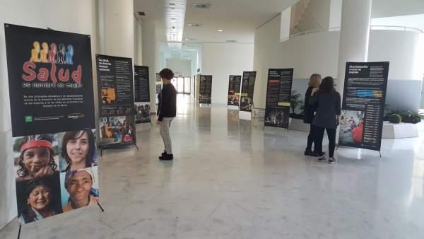 Exposición 'Salud es nombre de mujer', en el PTS