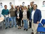 Reunión de Virginia Pérez (PP) en Alcalá de Guadaíra (Sevilla)