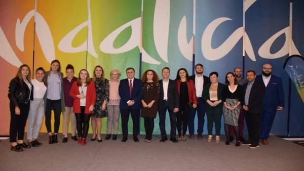 Entrega de premios Málaga Joven