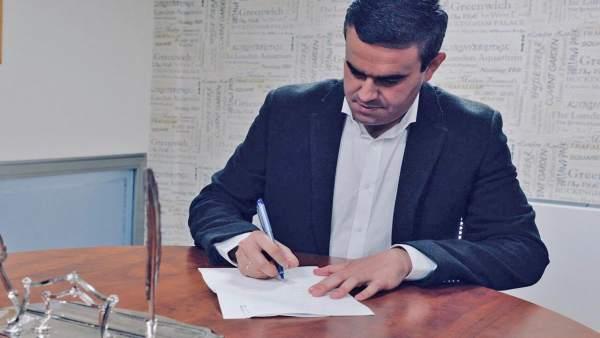 El candidato del PP de Cädiz a las elecciones al parlamento andaluz, Pepe Ortiz
