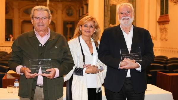 Socios de honr de la Sociedad Filarmónica de Badajoz
