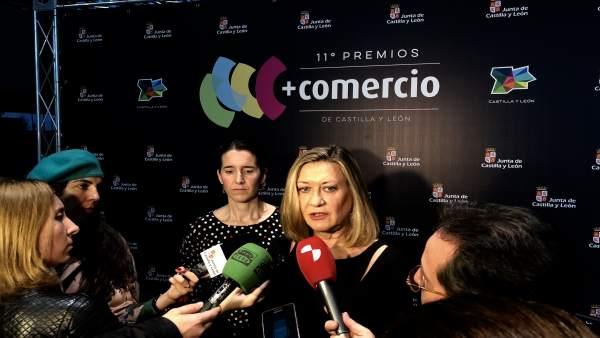 La consejera de Economía y Hacienda, Pilar del Olmo, 15-11-18