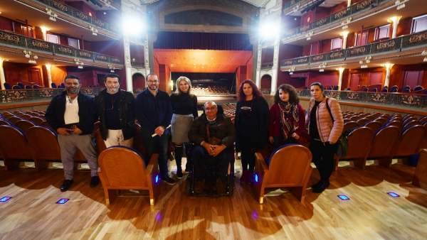 Visita del Consejo de Accesibilidad al Gran Teatro