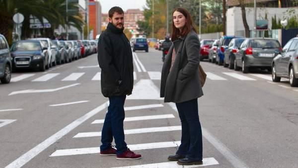 Cristina García y Adrià Junyent