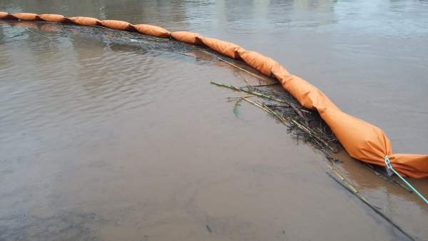 Agua acumulada en Gandia