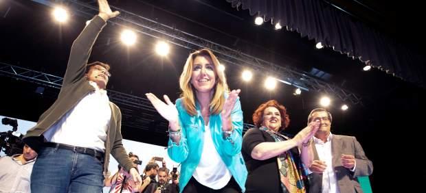 Susana Díaz pide una respuesta en las elecciones andaluzas contra los