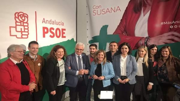 Inicio de campaña del PSOE en la provincia de Cádiz