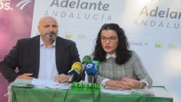 José Luis Cano y Carmen Barranco