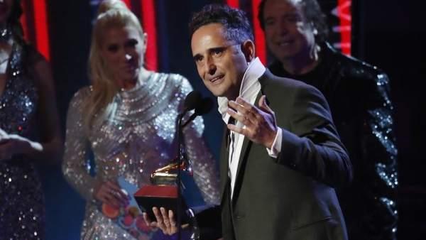 Jorge Drexler en los Grammy Latinos