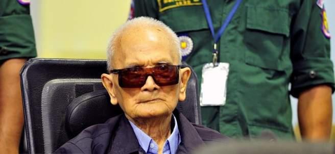 Nuon Chea, líder del Jemer Rojo
