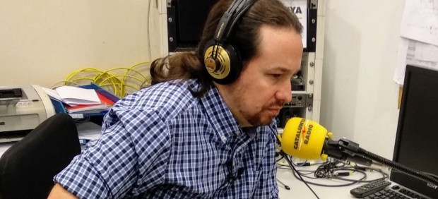 Pablo Iglesias en Catalunya Ràdio