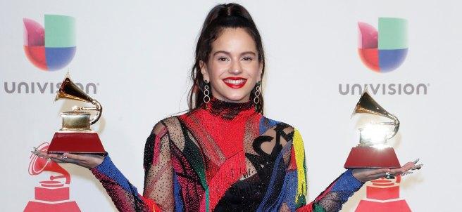 Rosalía triunfa en los Grammy Latinos