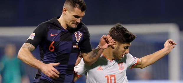 """Lovren se jacta de agredir a Sergio Ramos y llama """"maricones"""" a los jugadores españoles"""