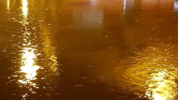 Lluvias en Alzira