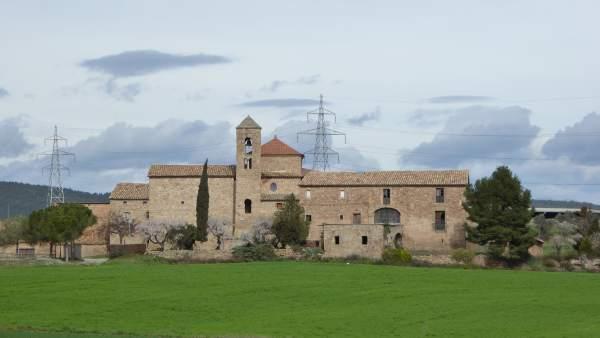 Església de Sant Mateu de Bages.