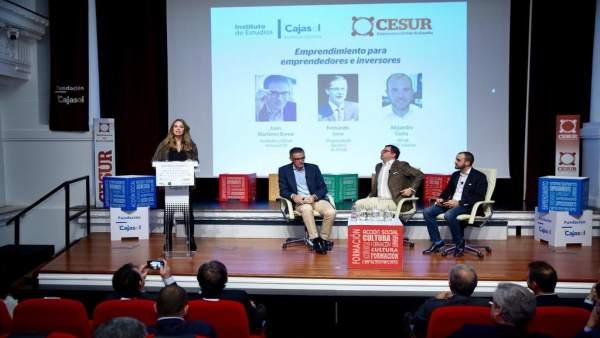 Jornadas sobre emprendimiento en la Fundación Cajasol