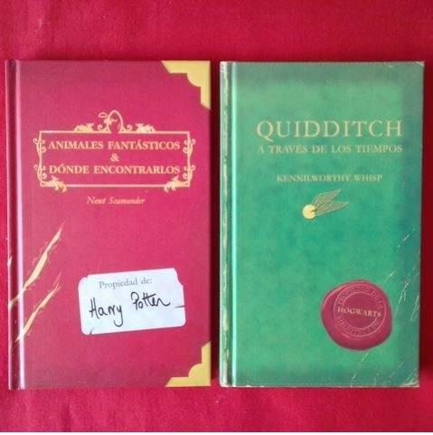 Los títulos 'Animales fantásticos y dónde encontrarlos' y 'Quidditch a través de los tiempos', basados en la saga 'Harry Potter'.