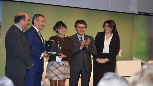 Entrega del premio Càtedra AgroBank