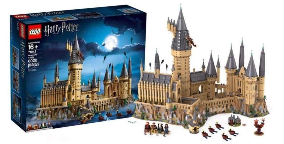 Castillo Hogwarts Lego