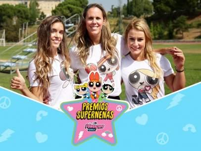 Ona Carbonell, Amaya Valdemoro y Lydia Valentín, reconocidas con el premio Supernenas