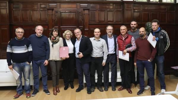 Firma convenio Policía Municipal de Madrid
