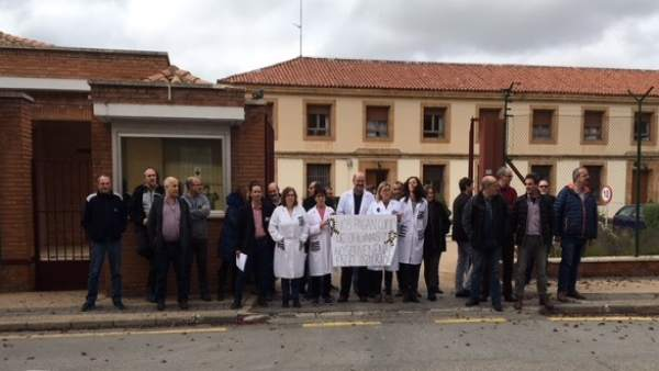 Los funcionarios de prisiones de Soria 16-11-2018
