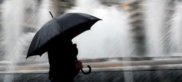 Una nueva ciclogénesis dejará lluvias y viento en casi toda la Península a partir del domingo